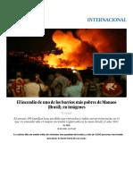 Fotos_ El Incendio de Uno de Los Barrios Más Pobres de Manaos (Brasil), En Imágenes _ Internacional _ EL PAÍS