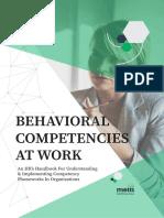 Competency Handbook