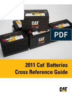 Cat Batteries CrossRef Guide