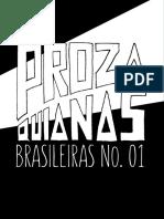 Prozaquianas Brasileiras N. 01 - Ed 01