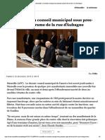 A Marseille, Un Conseil Municipal Sous Pression