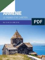 Voyage Arménie 2019