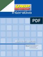 Livro Matematica Aplicada