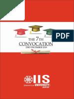Convocation Book 2018