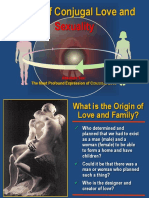 Ethics of Conjugal Love & Sexuality