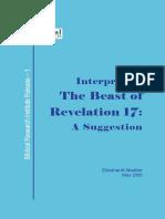 Interpreting the Beast of Revelatin 17 (Ekkehardt Mueller)