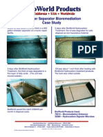 Oil-Water Separator Bio Remediation Case Study