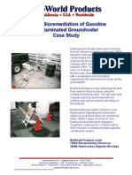 In-Situ Bio Remediation of Gasoline Contaminated Groundwater Case Study