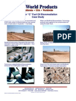 Bunker C Fuel Oil Bio Remediation Case Study - Photos