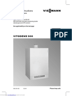 Viessmann Vitodens 300 Service Instructions-132pag