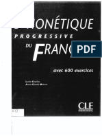 Phonetique Progressive Du Francais Intermerdiare (Avec Corriges)-