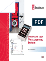 Window and Door Measurement System