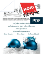 Höriwoche KW51