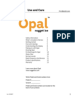Opal Ice Machine Manual