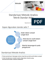 standarisasi teknik standar adisi