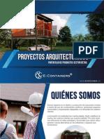 Brochure Proyectos Arquitectonicos
