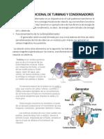 Informacion Adicional de Turbinas y Condensadores