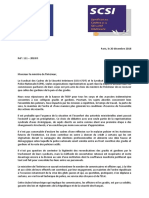 111-2018 D - Courrier Commun SCPN SCSI Au MI - Indemnitaire