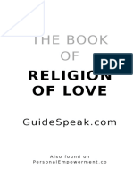 Book of Religion of Love
