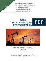 Parcial - Caso Petrolera Zuata