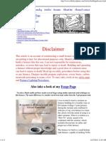 Metal Furnace Plans & Info
