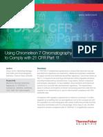 Wp 80078 Chromeleon Cds 21 Cfr Part 11 Wp80078 En