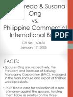 Ong vs. PCIB