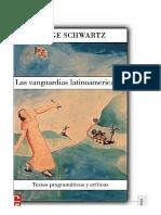 Schwartz Jorge - Introducción - Las-vanguardias-latinoamericanas-introduccion-e-indice