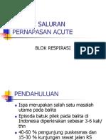 Infeksi Saluran Pernapasan Acute