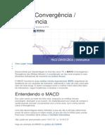 MACD Convergência