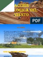 Acción Geológica Del Viento PDF