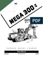 DAEWOO MEGA 300-III WHEEL LOADER Service Repair Manual SN:0001 and Up.pdf