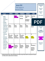 january instructional calendar