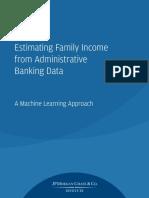 Institute Estimating Family Income Report