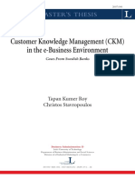 Customer Knowledge Management in the e- Business