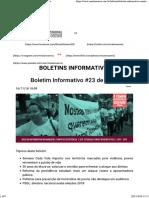 RR Boletim Informativo #23_2018