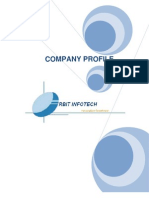 Corporate Profile-ORBIT INFOTECH