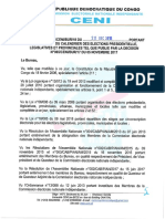 Décision n°050 de la Ceni (RDC)