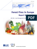 02 Forest Fires in Europe 2006