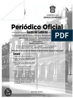 Calendario Poder Judicial Edomex 2019