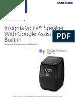 Insignia Speaker Manual
