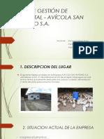 Plan de Gestión de Ambiental - Avícola San