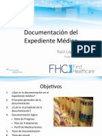 Documentación de Expediente Médico