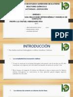 Expo Ecuacion Cinetica y Modelos de Contacto