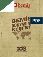 Bemıs Katalog 2018 Türkçe Broşür