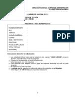 Control de Gestion Examen Iads025 Iad-025