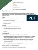 Distensión Muscular_ MedlinePlus Enciclopedia Médica