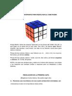 Método Principiante Para Resolver El Cubo Rubik 7