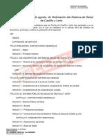 Doc66913 Ley 8-2010 de Ordenacion Del Sistema de Salud de Castilla y Leon