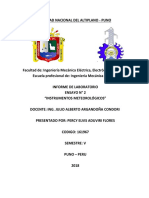Informe Laboratorio Instrumentos Meteorologicos